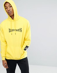 Wasted Paris London Hoodie In Yellow Yellow