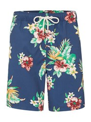 Howick Tropical Hawaiian Swim Short Navy