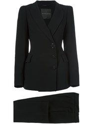 Ermanno Scervino Tailored Two Piece Suit Black