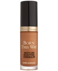 Too Faced Born This Way Super Coverage Multi Use Sculpting Concealer Mahogany Very Deep With Golden Undertones