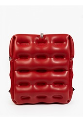 Christopher Raeburn Red Inflatable Backpack