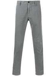 Incotex Distressed Chinos Grey