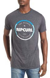 Rip Curl Men's Style Master Graphic T Shirt Charcoal