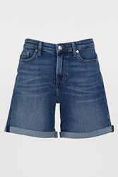 7 For All Mankind The Boy Shorts Rooftop