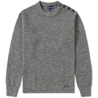 Armor Lux 1901 Fouesnant Mariner Crew Knit Grey