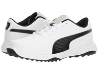Puma Golf Grip Fusion Classic White Black Golf Shoes