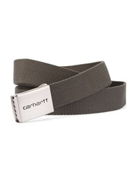 Carhartt Olive Chrome Clip Belt Green