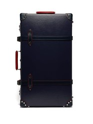 Globe Trotter St. Moritz 30 Check In Suitcase Navy