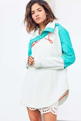 Without Walls Tristan Twofer Poncho Jacket Sky