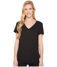 Lole Agda Top Black Short Sleeve Pullover
