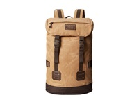 Burton Tinder Pack Beagle Brown Waxed Canvass Backpack Bags