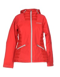 Columbia Jackets Red