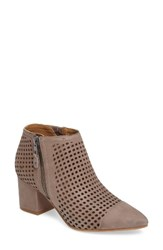 Lucky Brand Women's Jakelyn Pointy Toe Bootie Brindle Leather