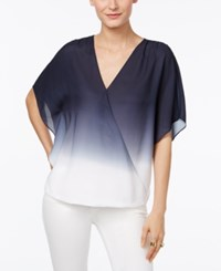 Inc International Concepts Surplice Ombre Top Only At Macy's Dip Dye