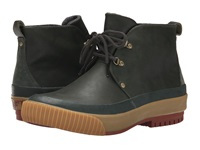 Pf Flyers Hi Press Defense Green Leather Wool Men's Boots