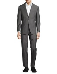Michael Kors Wool And Mohair Pants Suit Grey