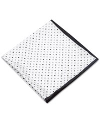 Club Room Dots Pocket Square Only At Macy's White