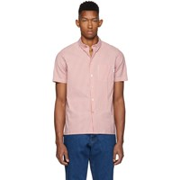 Paul Smith Ps By Red Stripe Casual Fit Short Sleeve Shirt