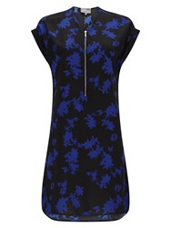 Phase Eight Sacha Printed Tunic Blue