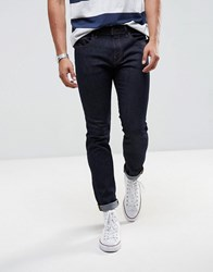 Selected Homme Jeans In Slim Fit Dark Blue