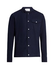 Kolor Patch Pocket Cotton Shirt Navy