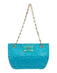 Moschino Cheap And Chic Handbags Turquoise