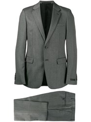 Prada Two Piece Suit Grey