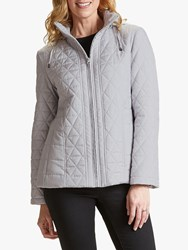 Four Seasons Quilted Jacket Glacier