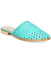 Callisto Fenix Mules Women's Shoes Teal