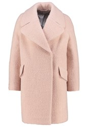 Whistles Penny Classic Coat Pink Rose