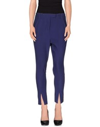 Dondup Trousers Casual Trousers Women Purple