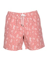 La Perla Swim Trunks Brick Red