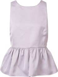 Zac Posen 'Kristin' Blouse Pink Purple