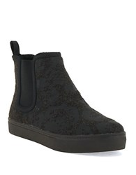 Elliott Lucca Palmira Felt And Sherpa Ankle Boots Slate