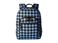 Vera Bradley Campus Backpack Alpine Check Backpack Bags Blue
