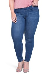 Liverpool Jeans Company Women's Sienna Mid Rise Soft Stretch Denim Leggings