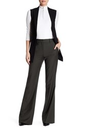 Theory Jotsna Continuous Wool Blend Dress Pant Gray