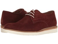 Lotus Kensington Claret Suede Men's Shoes Burgundy