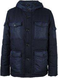 Joseph 'Skye Matt' Padded Jacket Blue