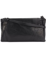 Ann Demeulemeester Multiple Compartment Shoulder Bag Women Leather One Size Black