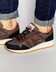 Gola Katana Ranger Trainers Brown