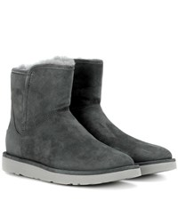 Ugg Abree Mini Suede Ankle Boots Grey
