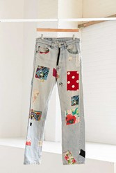Urban Renewal Vintage Levi's Customized Mickey Mouse Patch Jean Assorted