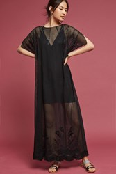 Anthropologie Palmeras Tunic Black