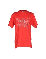 Fruit Of The Loom T Shirts Red
