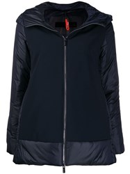 Rrd Hooded Puffer Jacket Blue