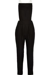 Band Of Outsiders Two Tone Linen Overalls