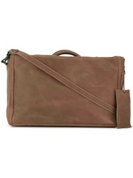 Marsell Rectangular Tote Bag Women Calf Leather One Size Brown
