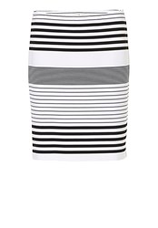 Betty Barclay Striped Skirt White