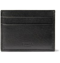 Shinola Leather Cardholder Black